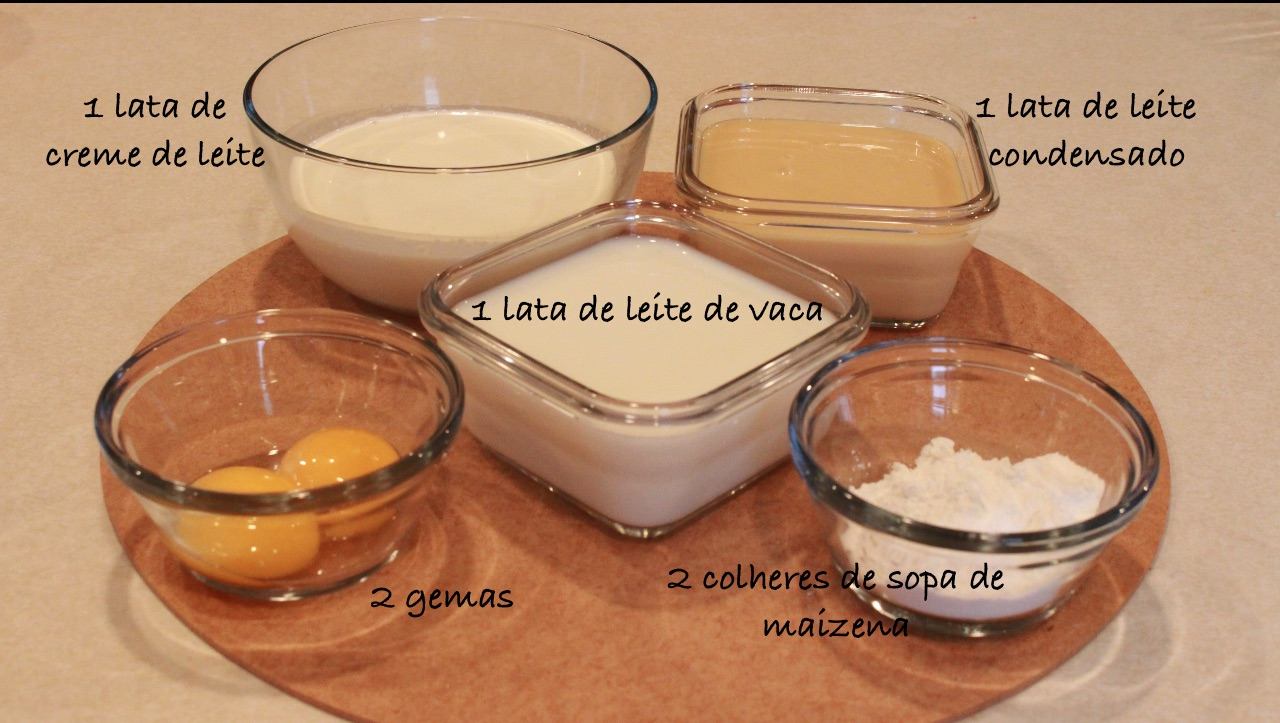 recheio ingredientes